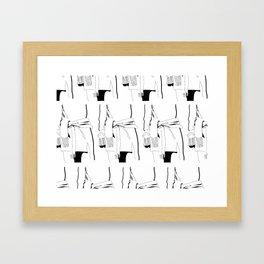 Sweater Dress - III Framed Art Print