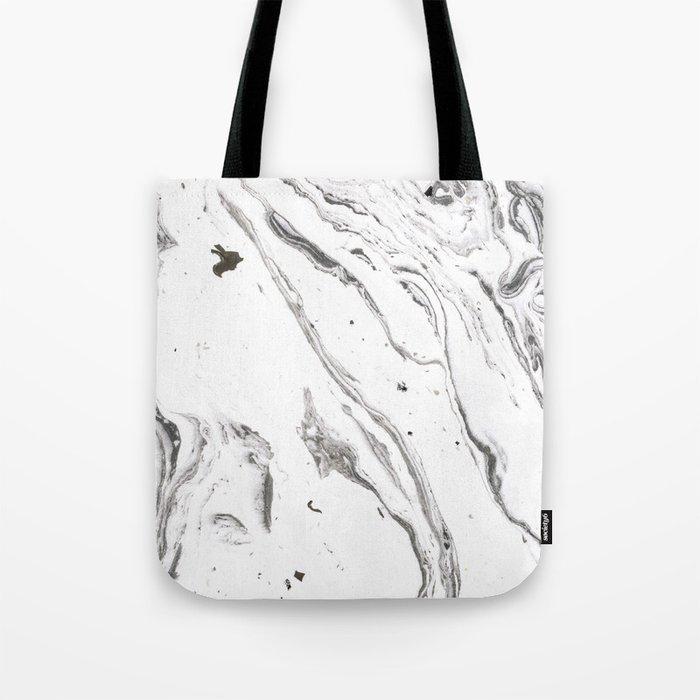 Minimalist marble Tote Bag