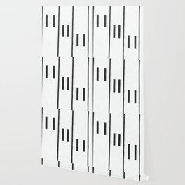 Falling Piano Keys Wallpaper