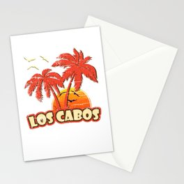 Los Cabos Vintage Sunset Stationery Cards