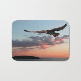 Evening Albatross Bath Mat