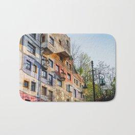 Hundertwasserhaus Vienna Austria Bath Mat
