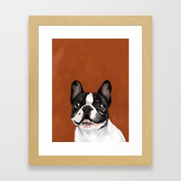 Beatriz Framed Art Print