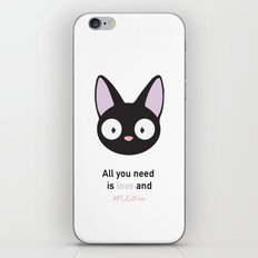 All you need is love and meow! iPhone & iPod Skin