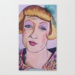 Grayson Perry Lilac Canvas Print