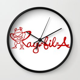 Ray Fillet's Ray-fil-A Wall Clock