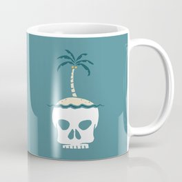 Skull Island – Blue Coffee Mug