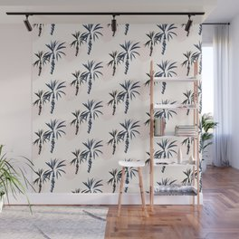Double palm pattern Wall Mural
