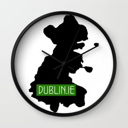dublin.ie Wall Clock