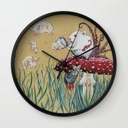 Simply Blow Wall Clock