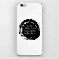 korean iPhone & iPod Skins featuring Korean proverb by yunitahadinata