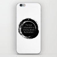 korean iPhone & iPod Skins featuring Korean proverb by yunitahadinata