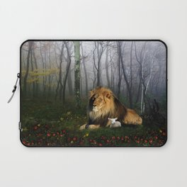 Lion and Lamb Laptop Sleeve