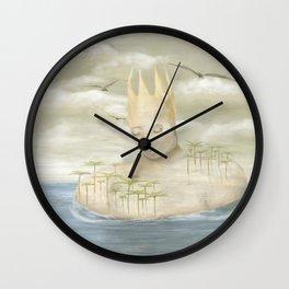 Island King Wall Clock
