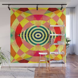 Funky shapes Wall Mural