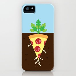 Pizza is a Vegetable iPhone Case