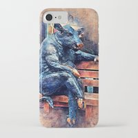 taurus iPhone & iPod Cases featuring Taurus by jbjart