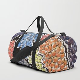 Grapes for wine lovers, gastronomy and restaurants Duffle Bag