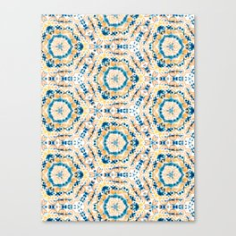 Tie Dye-Shibori 01 Canvas Print