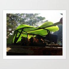 Bijao para la vida / Bijao for life Art Print