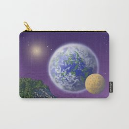 """NO WORLD IS """"ALIEN"""" Carry-All Pouch"""