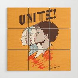UNITE! Wood Wall Art