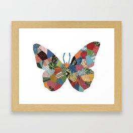 The Butterfly. Framed Art Print