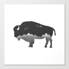 The Buffalo Canvas Print