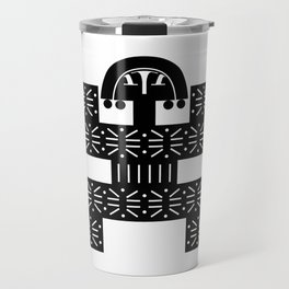 Pre-Columbian V Travel Mug