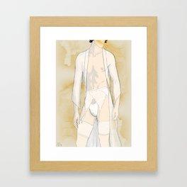 A Man Framed Art Print