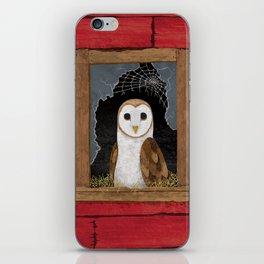 Barn Owl iPhone Skin