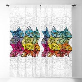 EscherFishes Blackout Curtain