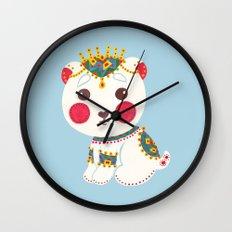 The Ethnic Polar Bear Wall Clock