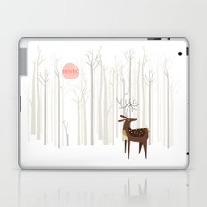 Reindeer of the Silver Wood Laptop & iPad Skin