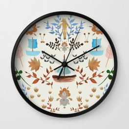 KURBITS  Wall Clock
