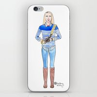 photographer iPhone & iPod Skins featuring Photographer  by AmariaStudio