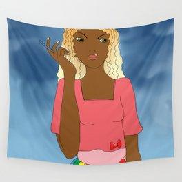 Brazil Girl Wall Tapestry