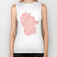 paisley Biker Tanks featuring Paisley by Laurie Mildenhall