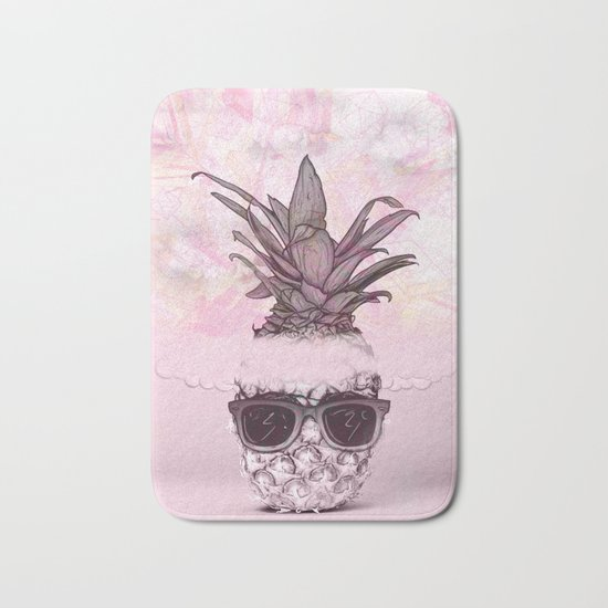 Pineapple 4 Bath Mat