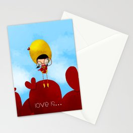 Love is... Stationery Cards