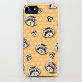 angry ferret iPhone Case