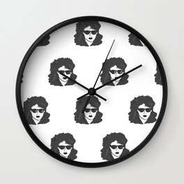 Woman Pattern  Wall Clock