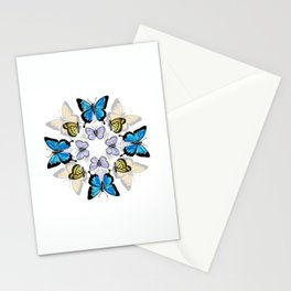 Kaleidoscope of Butterflies Stationery Cards