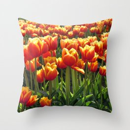 Tulips Are Better Than One Throw Pillow