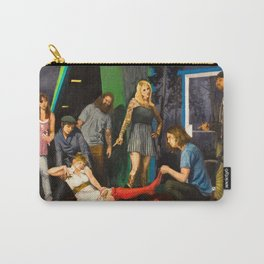 Whiskey is a brawler, but I think I love you Carry-All Pouch