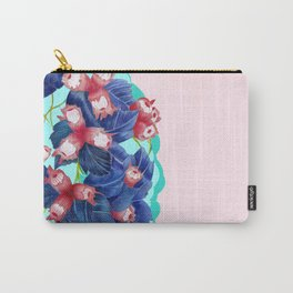 pastell spring leaves Carry-All Pouch