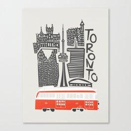 Toronto Cityscape Canvas Print