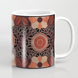 Gilded Autumn - Gilded Sunset Branches Coffee Mug