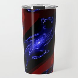 doppel deep blue Travel Mug
