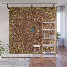 Magic Ornate Garden Mandala Wall Mural